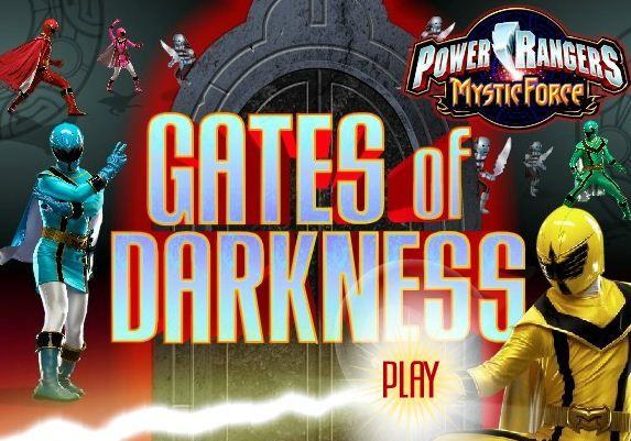 Power Rangers Gates Of Darkness game online