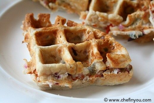 Dosa Waffles Recipe | Vegetable Waffles | Indian Breakfasts | Chef In You