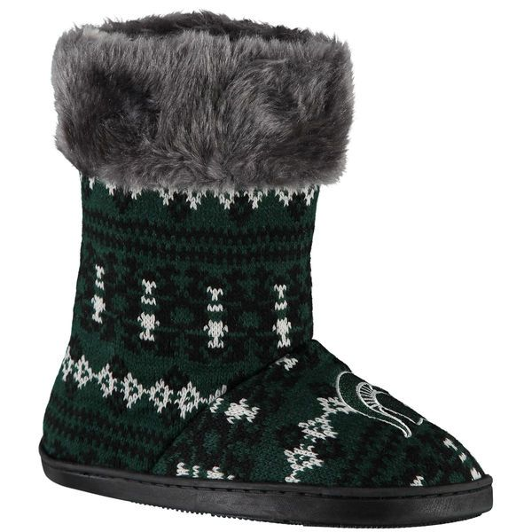 Michigan State Spartans Women's Aztec Boots - $34.99
