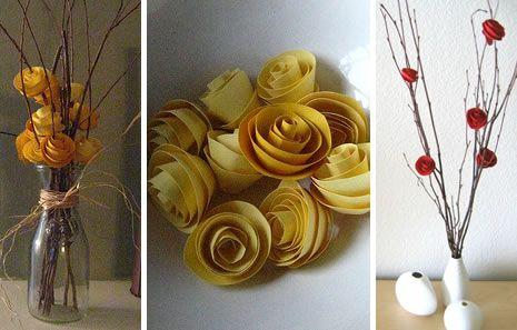 Paper Flowers ♥: Diy Crafts, Decoration, Wedding Ideas, Paper Flowers, Craft Ideas, Paper Crafts