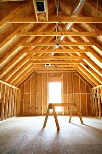 Unfinished Attics A Remodeling Opportunity Attic Ideas