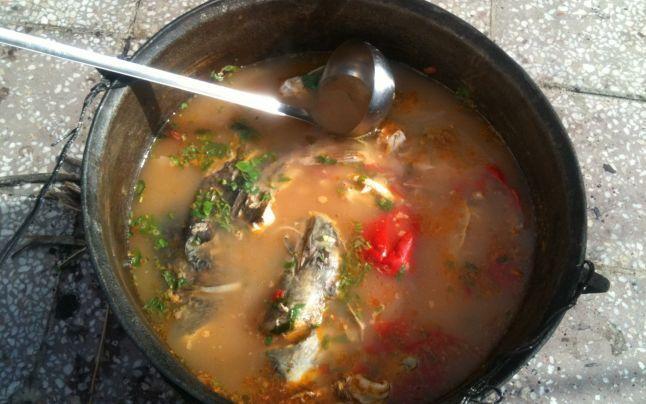 Secretele borşului de peşte preparat de un campion