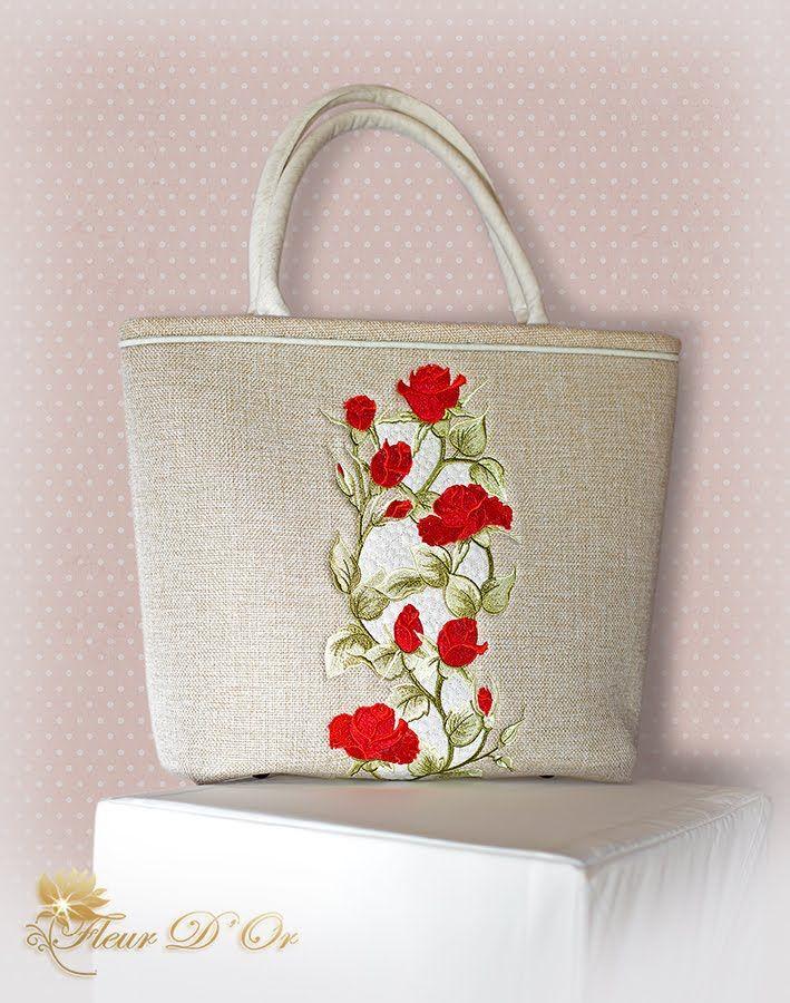 Научиться шить летнюю сумку