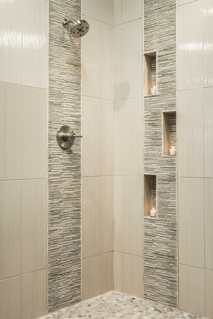 Tile Design Ideas For Small Bathrooms Beauteous Best 25 Accent Tile Bathroom Ideas On Pinterest  Subway Tile Review