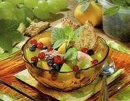 Zmrzlinový pohár s ovocem - STOB