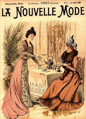 .História da Moda.: Século XIX - Parte 3: Moda na Belle Époque e Era Eduardiana