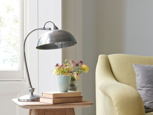 The Chromeo Is A Beautiful Side Lamp Hand Finished In Lovely Pewter Coupled With Its Dome Shape Shade It Has Cool Vintage Y Feel To