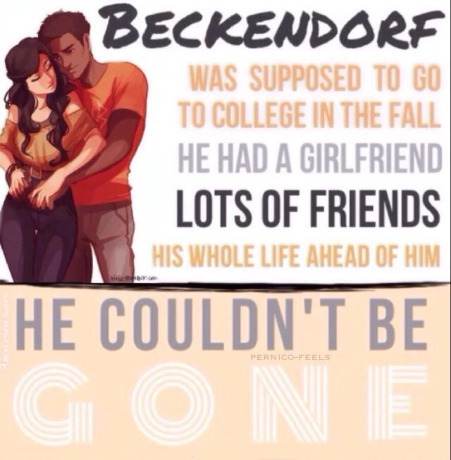 Percy Jackson and the Olympians. Beckendorf and Selina Beauregard