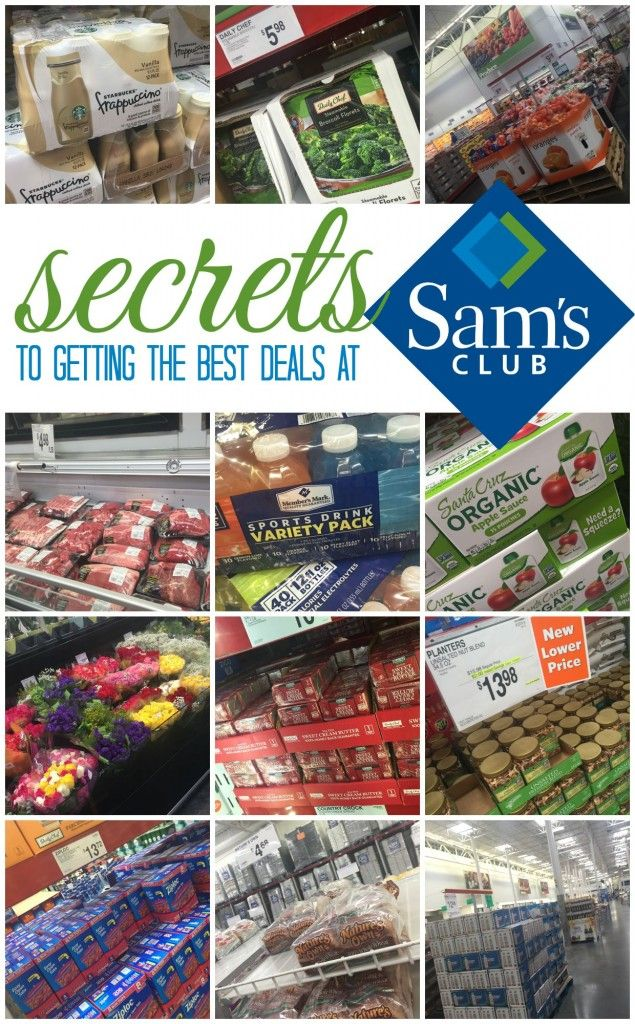 secrets to getting the best deals at sams club