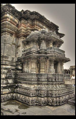 Chennakesava Temple Belur, Karnataka, India, via Flickr