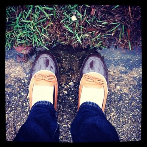 Ladies LL Bean Boot flats. Think Grandpa would approve if I wore these @Lizabeth Sorensen?