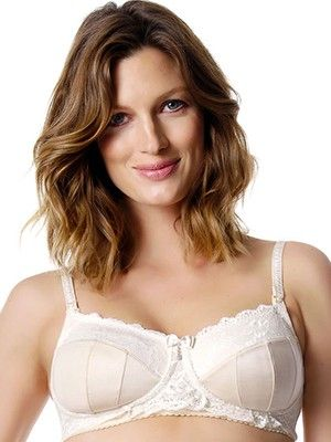 HOTmilk Luminous Nursing Bra from breastmates.co.nz -- Feminine and beautiful, an elegant ensemble of gardenia and champagne hues are represented in this full cup, sensual nursing bra - you should feel fantastic every day!