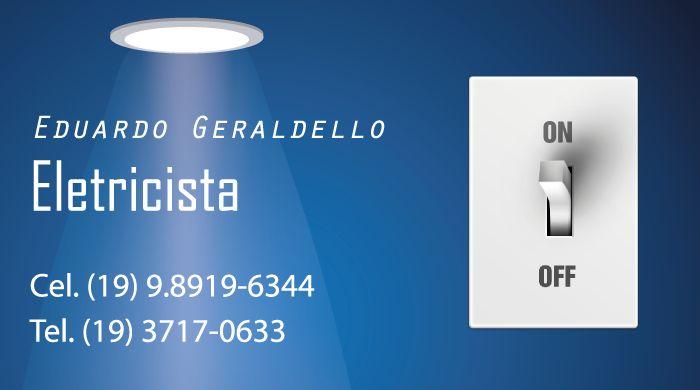 Cartão Visita - Eletricista
