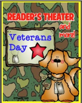 Veterans Day Readers Theater script will encourage your students to become better readers and strengthen their fluency skills. This Reader's Theater and More packet is based Veterans Day. This experience will improve students' reading comprehension, fluency,
