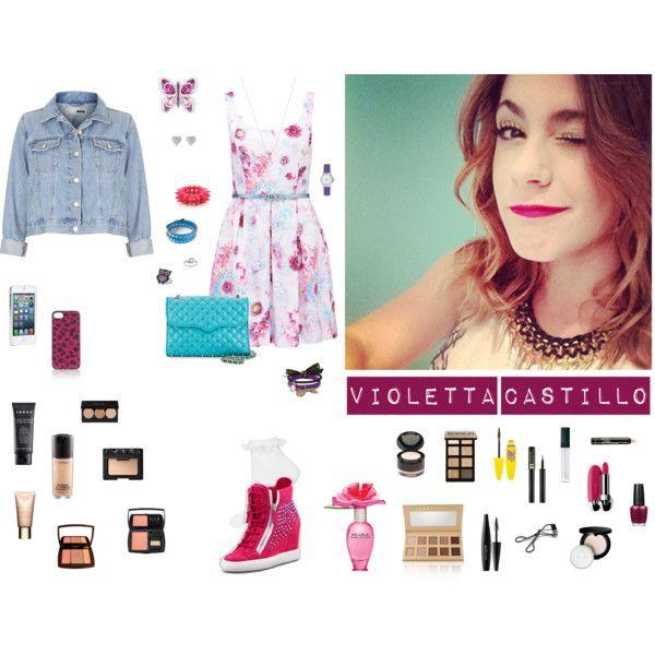 9 Best Images About Moda De Violetta Castillo On Pinterest