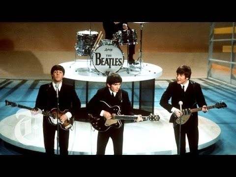 A Visual Statistical History of The Beatles Honoring the 50th Anniversary of Their Arrival in the United States