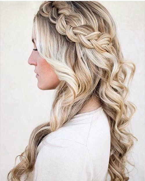 Formal Hairstyles Brilliant 17 Best Prom Hair Images On Pinterest  Cute Hairstyles Wedding