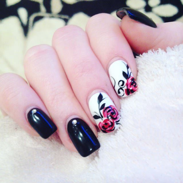 Creative nails design montreal creative nail design ideas london view images best ideas about rose nail art on prinsesfo Image collections