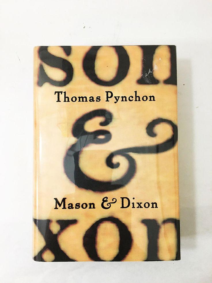Mason & Dixon book. Thomas Pynchon. FIRST EDITION. Henry Holt and Co. Circa 1997.