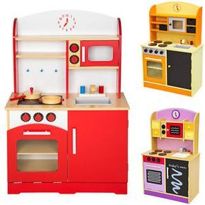 Cocina de madera de juguete para niños juguete juego de rol toy
