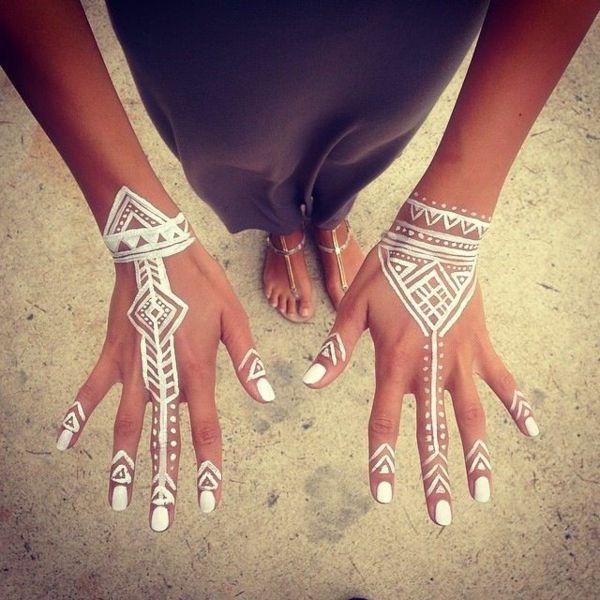 Les 25 meilleures id es concernant dessins au henn pour la main sur pinterest tatouages de - Dessin de henne pour les mains ...