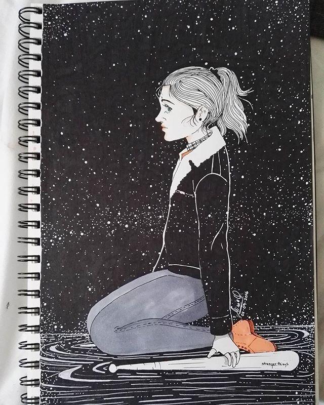 #nancywheeler #strangerthings #draw #illustration #dibujo #nancy