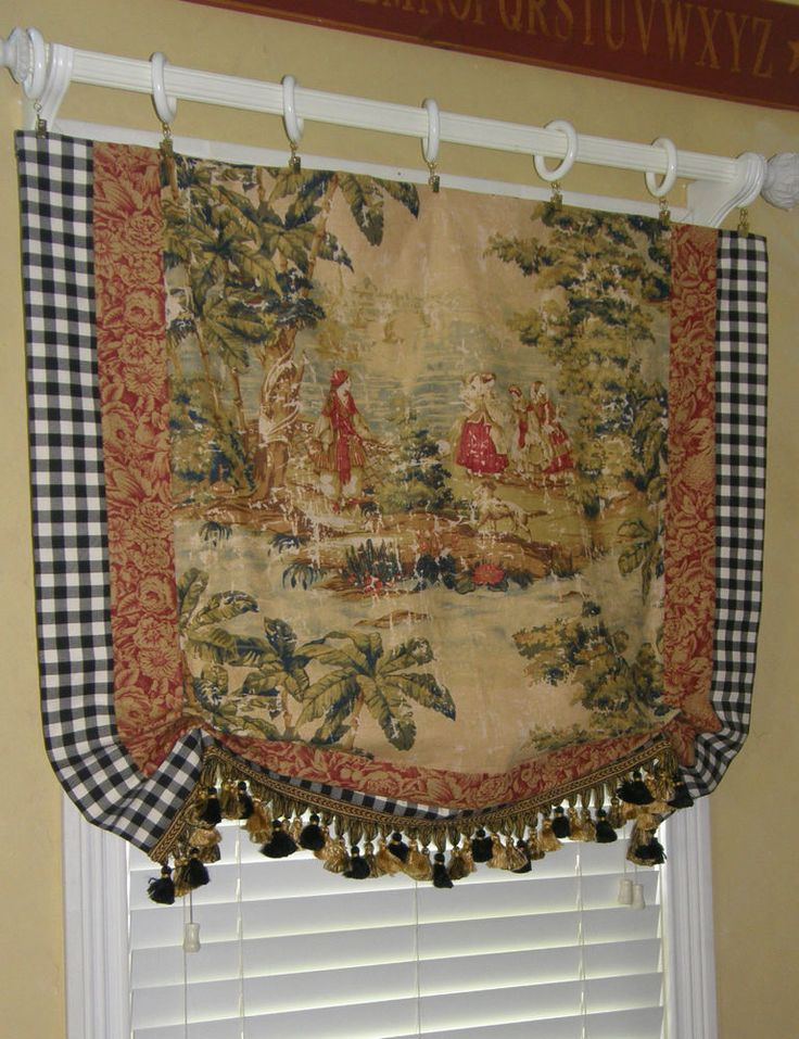 1000 Images About Toile On Pinterest Valance Curtains