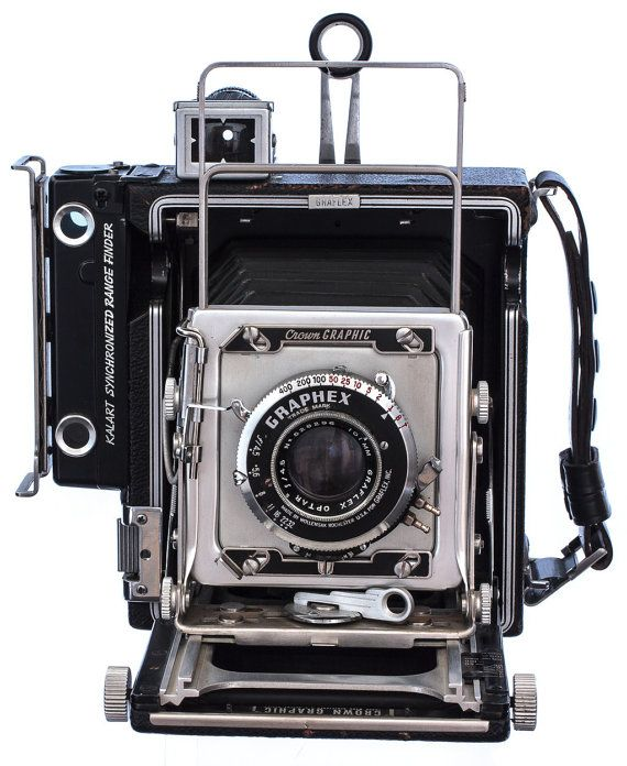 Vintage 1947 Graflex Pacemaker Crown Land by NatsVintageFinds, $295.00