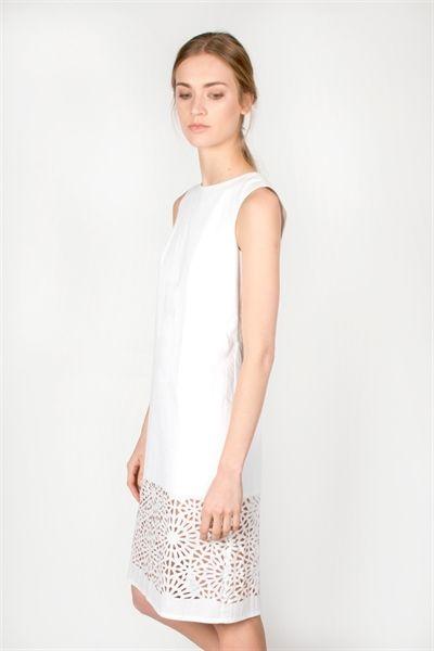 Alicia Dress  http://relatedapparel.com/Alicia-Dress.aspx  #relatedapparel #related #dress #white #ss15 #fashion