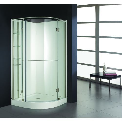 Amber Corner Shower Higher End Kit Door Folds