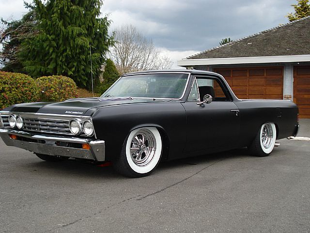 1967 Chevrolet El Camino- not a big fan of dropping the El Camino, but, it's an El Camino