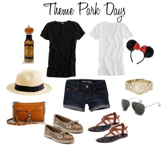 ae6556c21b7a Theme Park Outfit(  I would totally wear this any day(