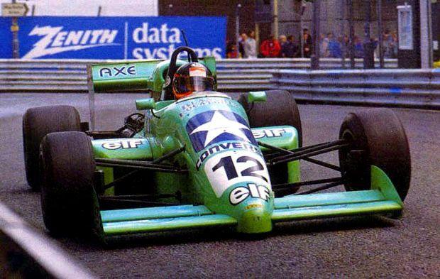 Olivier Grouillard - Lola T88/50 [HU05] Cosworth DFV - GDBA Motorsport - III Halfords Birmingham Superprix - 1988 FIA Formula 3000 International Championship, round 8