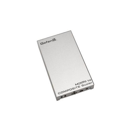 Gefen - GefenTV HDMI to S-video and Composite video Video Converter - Silver, GTV-HDMI-2-COMPSVIDSN