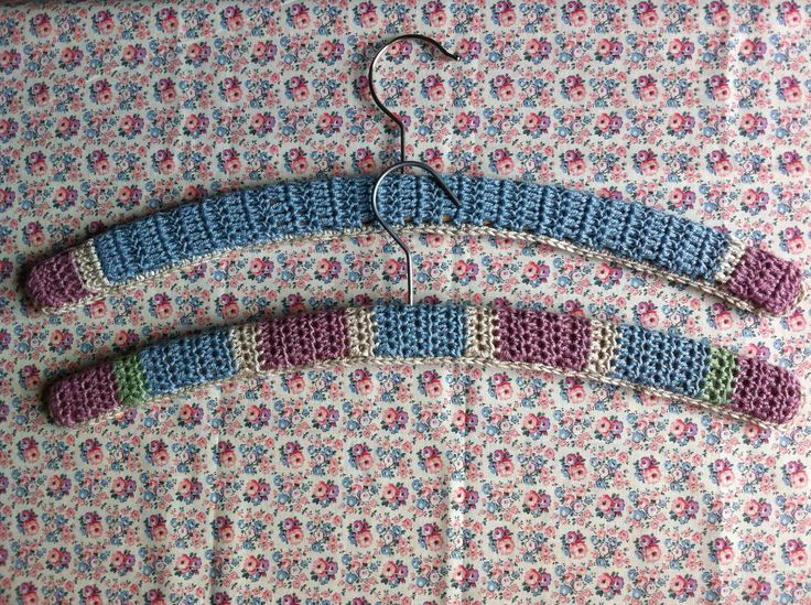When you can crochet, there's really no excuse for tatty coat hangers, when you can tart them up with a few simple stitches. These crochet hanger covers look great on display, and they protect delicate clothing. No snags on vintage blouses, and shoulders will keep their shape better too, so they're practical as well as incredibly pretty. We've invited Kath Eastoe from Inverleith to share her free crochet pattern with you...