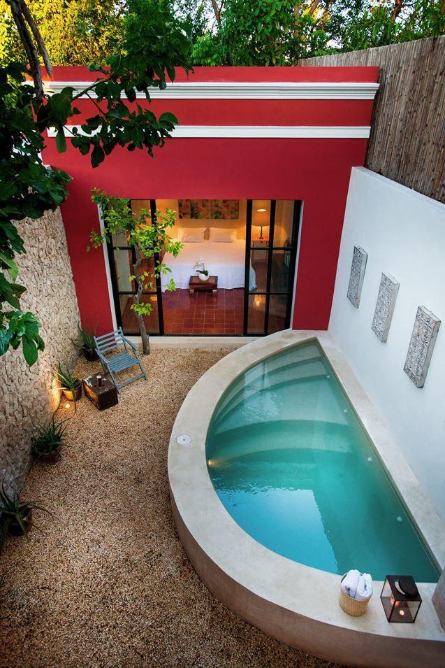 Best 25+ Plunge pool ideas on Pinterest | Small pools, Small pool ...