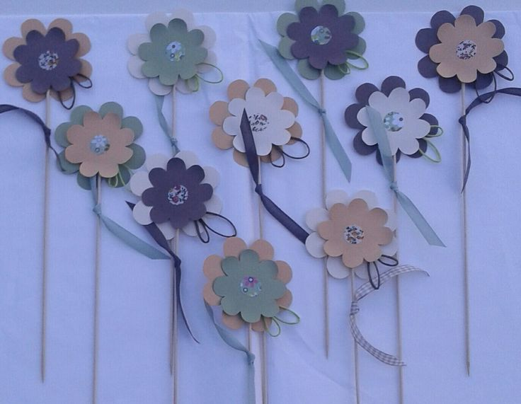 My DIY paperflowers