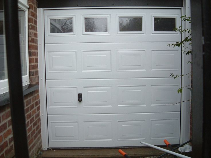 The Most Incredible along with Gorgeous Insulated Sectional Garage Doors With Windows with regard to Provide House