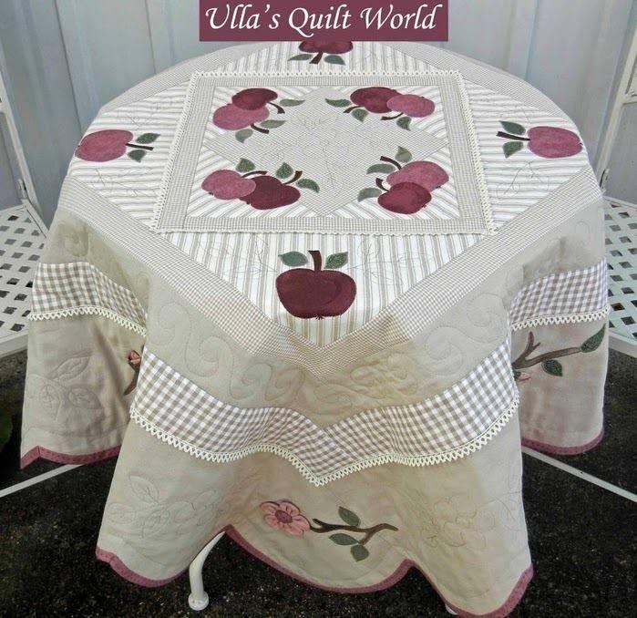 Toalha de mesa linda!