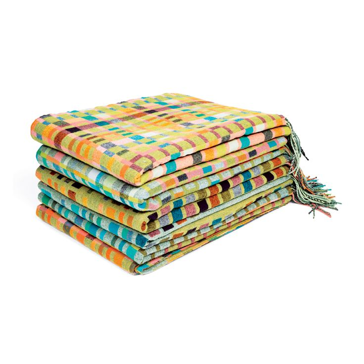 5 Modern and Bright Blankets -- dwell.com