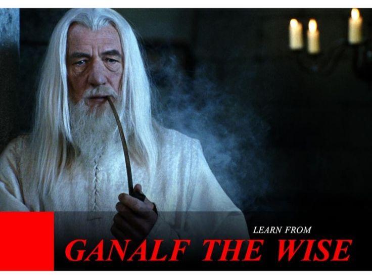 Learn from Ganalf the Wise by SeoCustomer.com via slideshare