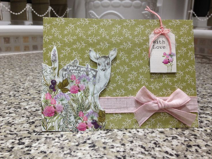 Made by Maxcine Etherington using Craftwork Cards Hedgerow Collection x