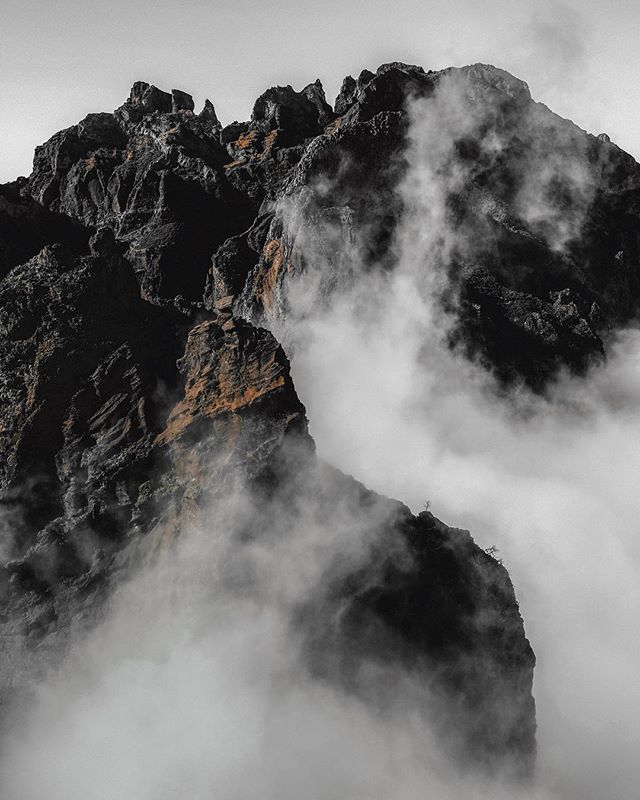 I have a love affair with mountains and fog #bewild_mag