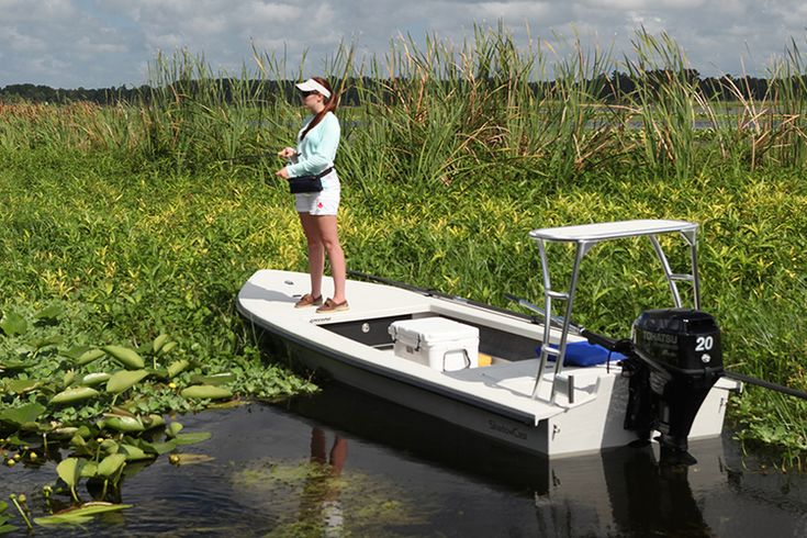 Ankona boats. Built to order boats. Drafts nothing. A great shallow water boat