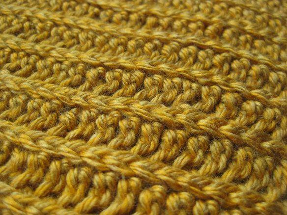 New handmade crochet men's scarf