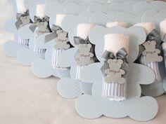 Lembranicnha super bacana para Maternidade: Toalhinha na embalagem de Urso…