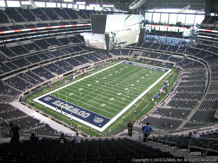 at&t stadium arlington tx section 422 | Dallas Cowboys at AT&T Stadium Section 422 View