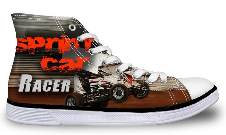 Sprint Car Racing Women's Shoes FREE SHIPPING TODAY!