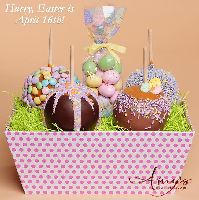 24 best halloween caramel apples spooky gifts images on amys gourmet apples has a large selection of fun spring treats and gourmet easter gifts order delicious spring and easter caramel apples online today negle Images