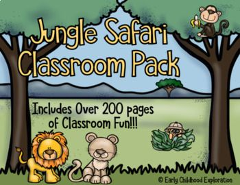 Explore the wild this this fun classroom décor pack. It has everything you need to be organized in style for the school year! Items included: ⎫ Schedule Cards ⎫ Calendar Set ⎫ Differentiated Calendar cards for different months (each month has a different pattern on it for